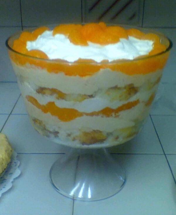 Creamsicle Trifle